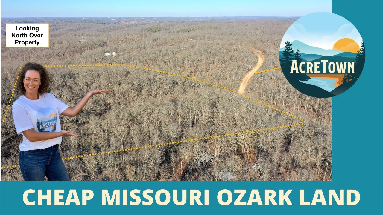 Land For Sale In Missouri By Owner | Fully Timbered | No Restrictions