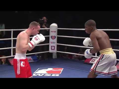 56kg Sean MCGOLDRICK (British Lionhearts) vs Andy CRUZ (Domadores de Cuba)
