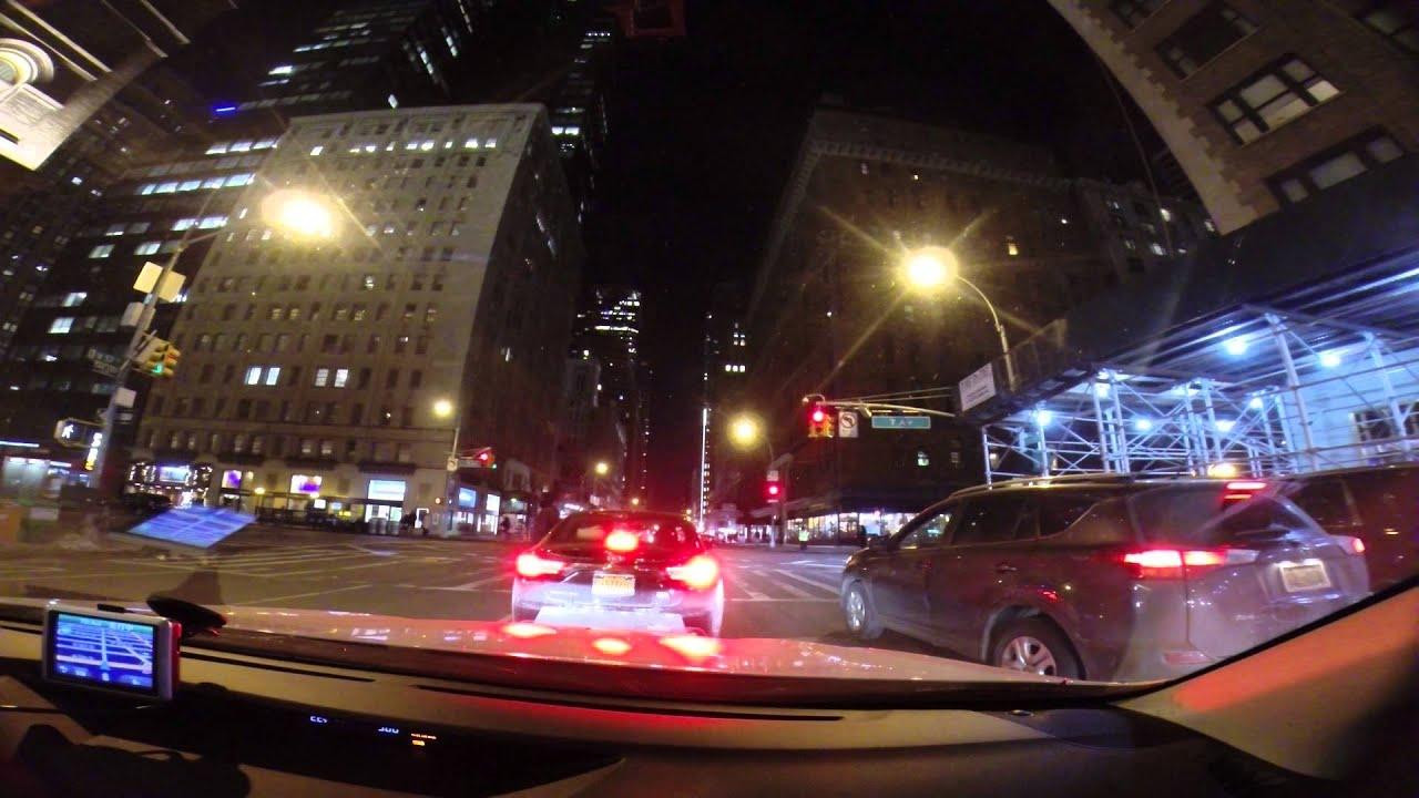 ゆっくりドライブ ニューヨーク マンハッタン part1 drive slowly in manhattan new york w japanese talk