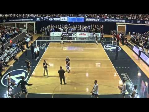 #11 Stanford Men's Volleyball vs. #1 BYU