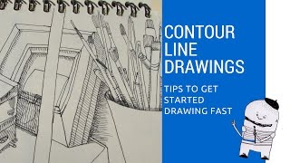 Lesson 4: Contour Line Drawings