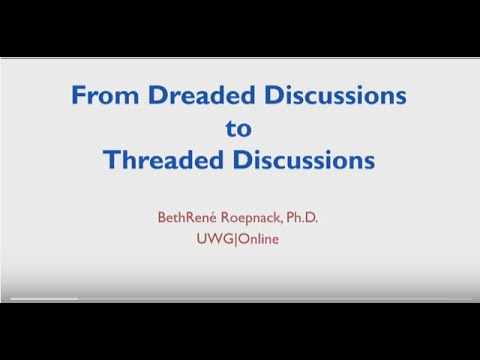 From Dreaded Discussions to Threaded Discussions