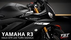 How to install Halo-GTR Signals on a 2019 Yamaha R3 by TST Industries