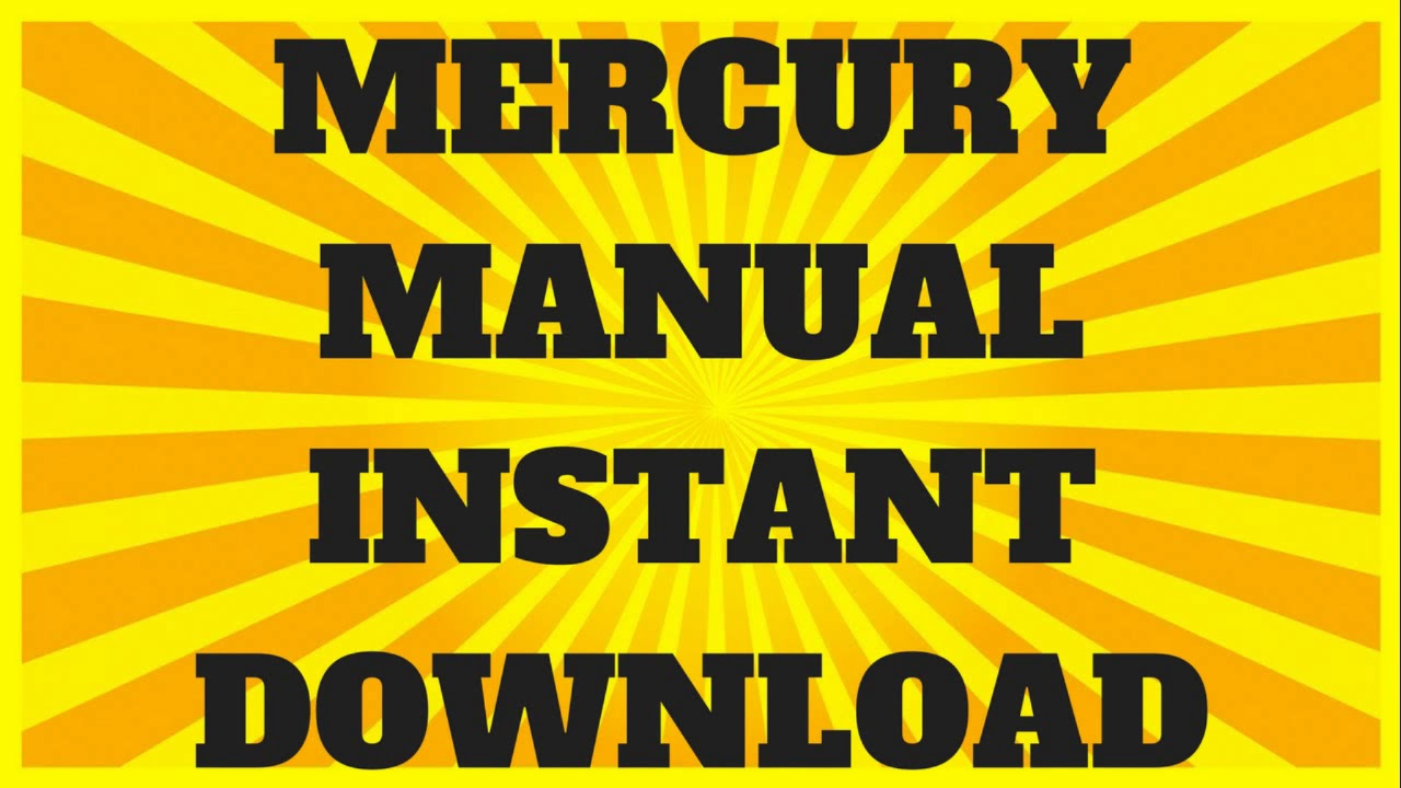 medium resolution of mercury outboard manual 45 hp to 115 hp 1965 to 1989 pdf download