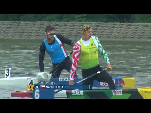 C1M 200m Final A - 2017 ECA Canoe Sprint European Championships