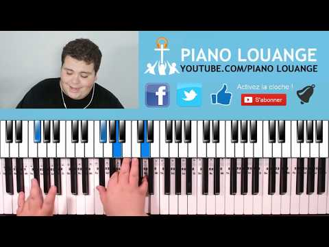 TA PRÉSENCE QUE J'AIME - MOÏSE MBIYE - PIANO TUTORIEL