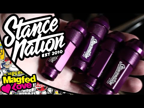 Stance Nation Lug Nuts Unboxing