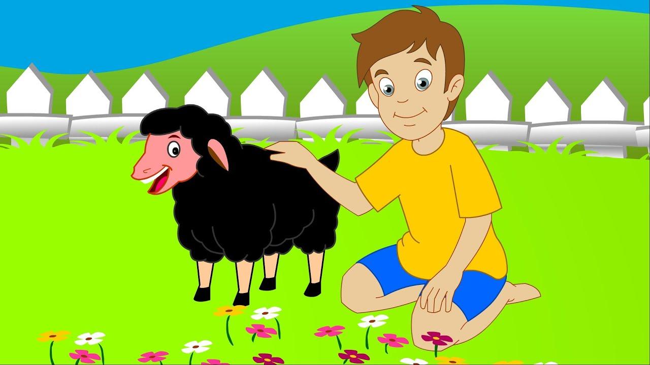 Baa Baa Black Sheep | Nursery Rhyme with Lyrics - YouTube