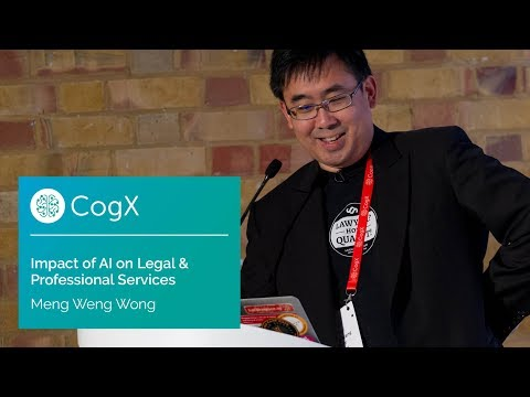 Meng Weng Wong, Legalese on Impact of AI in Legal & Professional Services | CogX17 Highlights