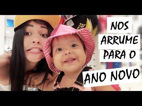 ESCOLHA NOSSA ROUPA DE ANO NOVO ft. Valentina Sobrinho
