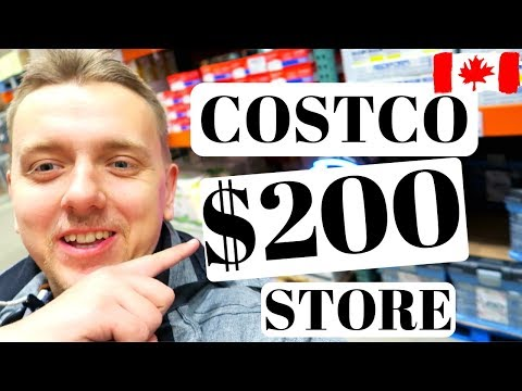 Shopping & Prices In Canada   Costco Grocery Haul