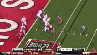 Ohio State Buckeyes Football vs Wisconsin Highlights Video 2011 All of The Lights