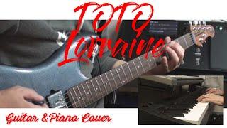 Toto - Lorraine (Guitar & Piano) Cover Movie /Helix Tone スティーブルカサーギターカバー