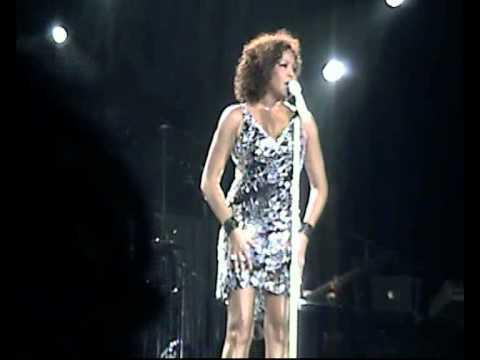 Whitney Houston I look to you london