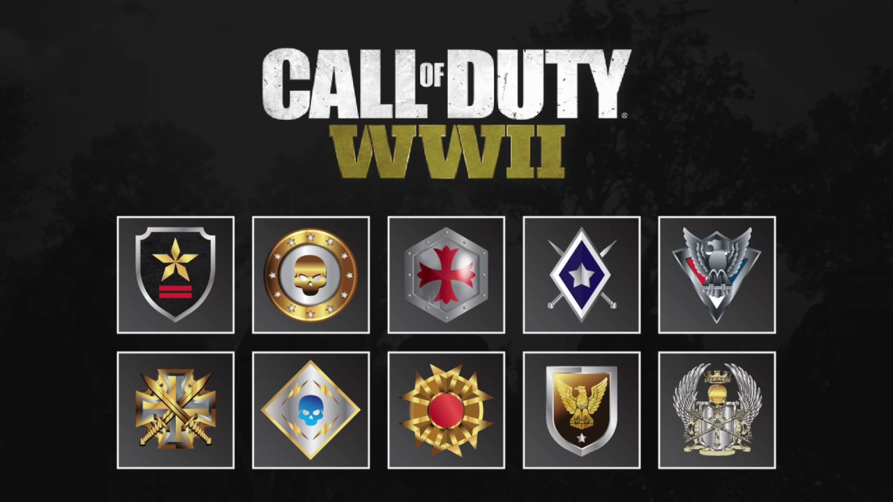 Leaked official call of duty ww2 prestige emblems youtube official call of duty ww2 prestige emblems buycottarizona Gallery