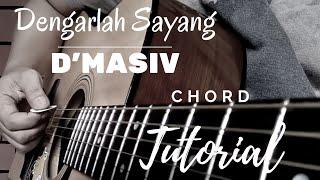 (Tutorial Gitar) Dengarlah Sayang | D'Masiv | Lengkap | Gampang Banget