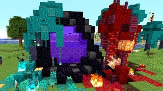 Minecraft 1.16 Nylium Farm! Netherite OP GOD ARMOR! Snapshot 20w06!