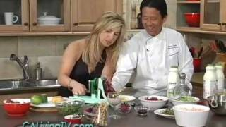 "California Living™ Host Aprilanne Hurley Dishes Tequila Lime Shrimp With A ""sexy Twist"""