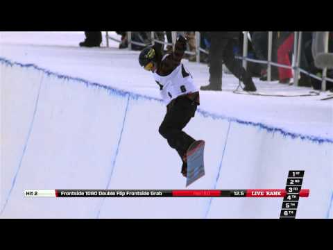 Markus Malin - Semi Final run at the Arctic Challenge Halfpipe 2013