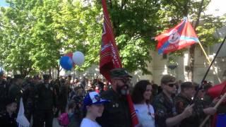 Парад Победы в Севастополе. Начало. Наш штаб