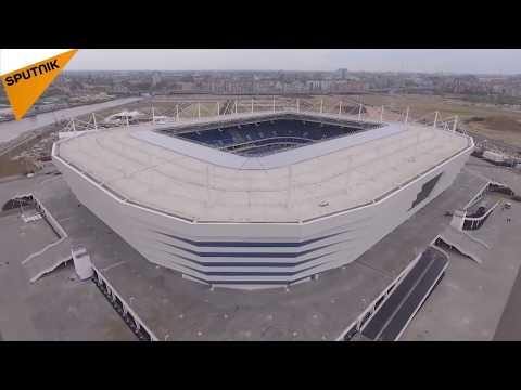 2018 FIFA World Cup: Kaliningrad Stadium Opens Its Doors