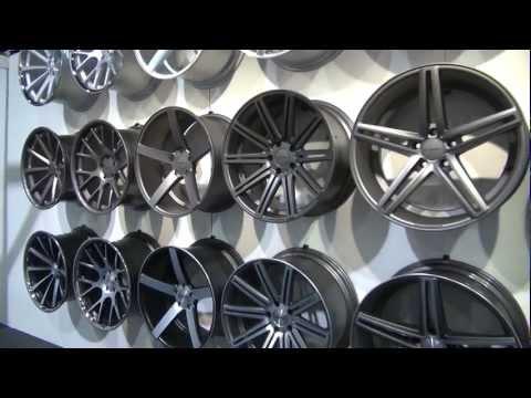 SEMA Show 2012 Vossen Wheels Booth