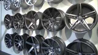 SEMA Show 2012 Vossen Wheels Booth