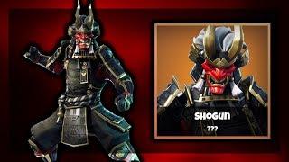 *NEW* SHOGUN SKIN IN FORTNITE GAMEPLAY!
