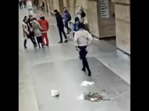 новости Россия Санкт Петербург драка и стрельба в метро Спасская 2020