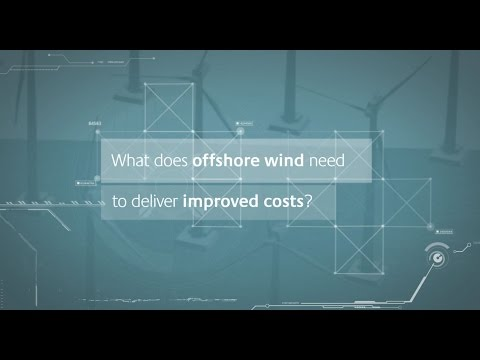 What does offshore wind need to deliver improved costs?