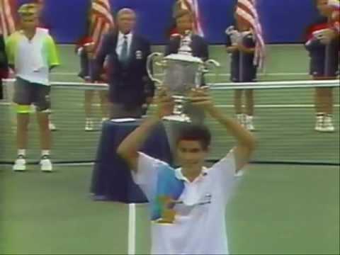 Pete Sampras first Grand Slam title (US Open 1990)