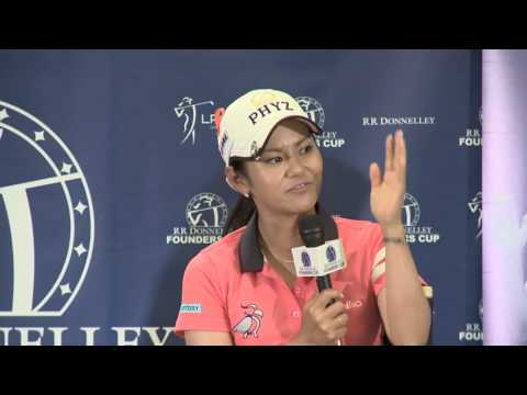 2013 RR Donnelley LPGA Founders Cup - Ai Miyazato Post 3rd Round Interview