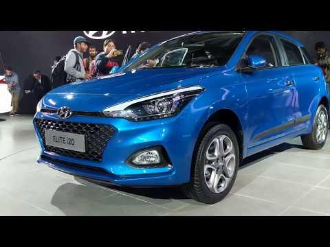 Hyundai i20 facelift 2018 in Hindi   Auto Expo 2018   MotorOctane