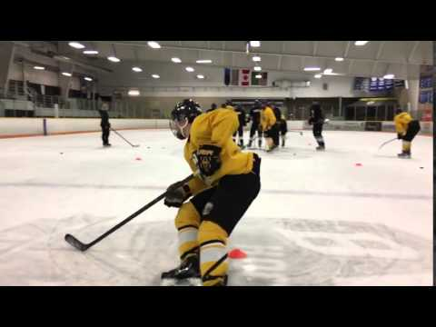 Ian Walker tight turn drill - BWC Hockey Academy