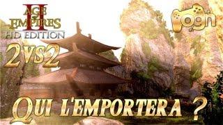 FR - Age of empires 2 HD ! 2VS2 - Qui l