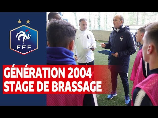 Génération 2004 : 3e stage à Clairefontaine des U16 I FFF 2019