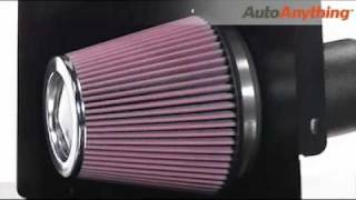k 63 series aircharger high flow intake review autoanything product demo