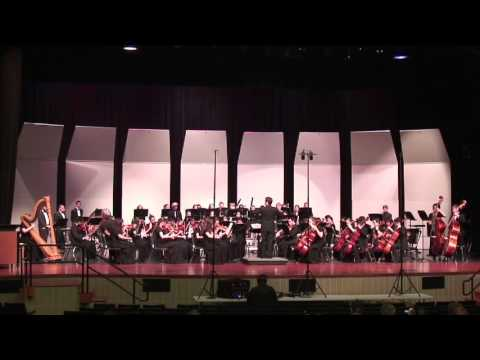 Vaugn WIlliams/Foster: Rhosymedre - Prelude on a Welsh Hymn Tune - Garland HS Orchestra (2016)