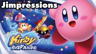 Kirby Star Allies - Dededelightful (Jimpressions) (Video Game Video Review)