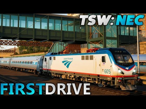 Train Sim World: Northeast Corridor New York - FIRST DRIVE