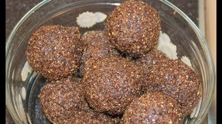 Prevent hair loss, Flax Seeds laddu, 23 Health benefits, kids snack, Organic Village Food Concepts