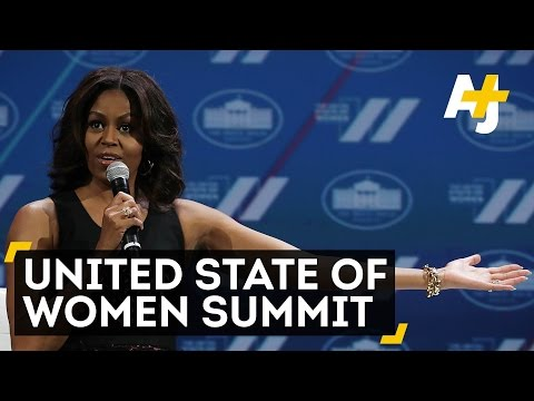 Powerful Female Leaders Speak At United State Of Women Summit