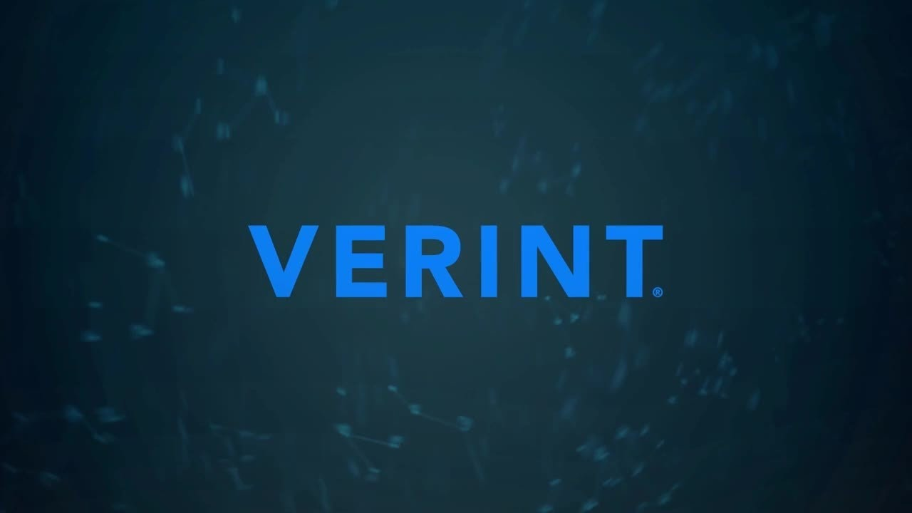 Verint playback error