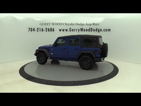 2018 Jeep Wrangler Salisbury, Concord, Kannapolis, Mooresville, Lexington, NC 18J299