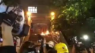 Gambar cover Viral!!!Hongkong Semakin Rusuh Pendemo Dibubarkan Polisi!!!