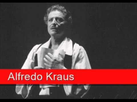Alfredo Kraus: Massenet - Werther, 'Pourquoi me réveiller'