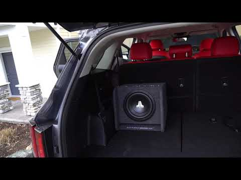 HOW TO INSTALL A SUBWOOFER IN A KIA SORENTO 2021
