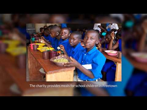 The Food First Foundation is a charity for School Children in Sierra Leone