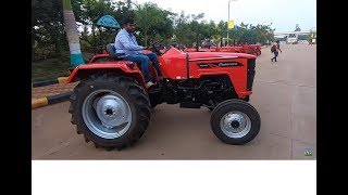कैसा है भारत से विदेश मे जाने वाला ट्रैक्टर  Mahindra 4540 tractor test Drive