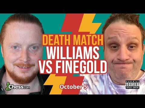 Trash Talking Blitz Chess Feud: Finegold Vs Williams